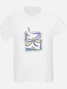 Inspire Dragonflies Kids T-Shirt