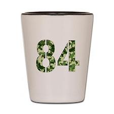 Number 84, Camo Shot Glass