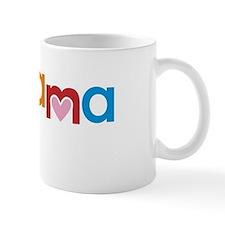 Peace, Love, Obama Small Mug