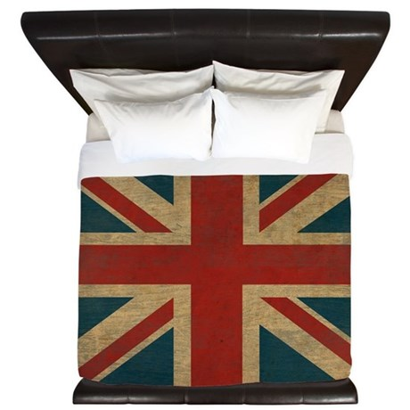Vintage Union Jack King Duvet