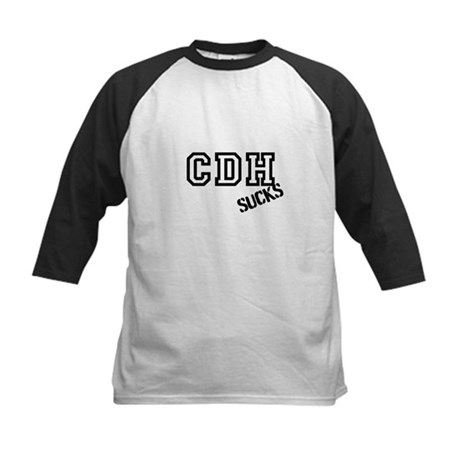CDH Sucks Kids Baseball Jersey
