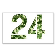Number 24, Camo Decal