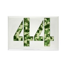 Number 44, Camo Rectangle Magnet