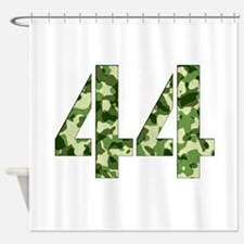 Number 44, Camo Shower Curtain