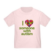 I Love Someone with Autism T