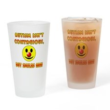 Autism Isnt Contagious but Smiles Are Drinking Gla