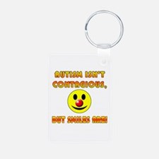 Autism Isnt Contagious but Smiles Are Keychains