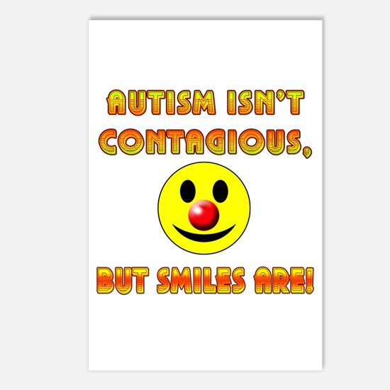 Autism Isnt Contagious but Smiles Are Postcards (P