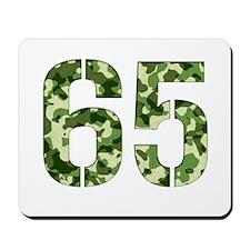Number 65, Camo Mousepad