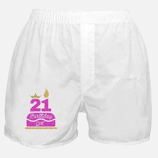 Cute 21 Boxer Shorts
