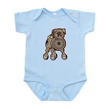 Steampunk Pug Infant Bodysuit