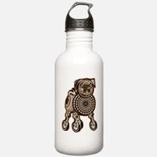 Steampunk Pug Water Bottle