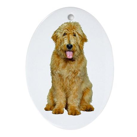 Goldendoodle Ornament (Oval)