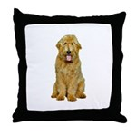 Goldendoodle Throw Pillow