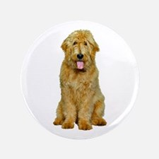 """Goldendoodle 3.5"""" Button"""
