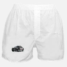 Cute Police car Boxer Shorts