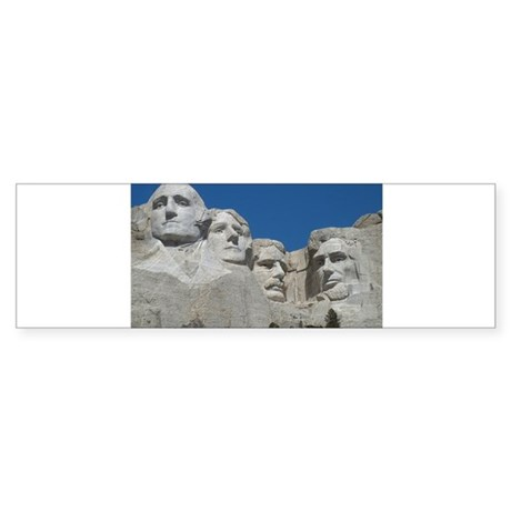 Mount Rushmore Sticker (Bumper)