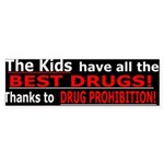The Kids have the Best Drugs B.Sticker