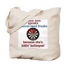 """When Ann Speaks"" Tote Bag"