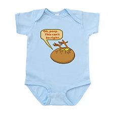 Funny Chick in Egg Infant Bodysuit