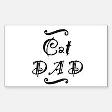 Cat DAD Decal
