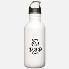 Cat DAD Water Bottle
