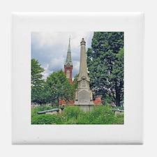 Civil War Monument Tile Coaster
