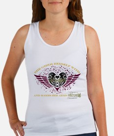 Makes Her Arms Strong - Dark Tank Top