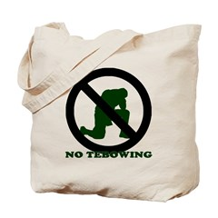 No Tebowing! Tote Bag