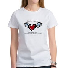 3-Mother Warrior Heart T-Shirt