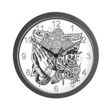 Trust God Wall Clock