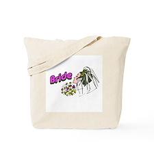 Mod Bride Tote Bag