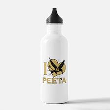 I Heart Peeta Water Bottle