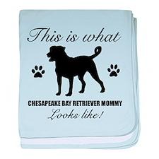 Chesapeake Bay Retriever Mommy baby blanket