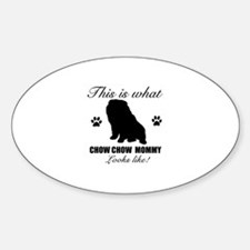 Chow Chow Mommy Decal