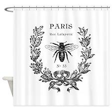 PARIS BEE Shower Curtain