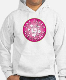 Eat Sleep Scrapbook Hoodie