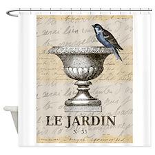 FRENCH GARDEN Shower Curtain
