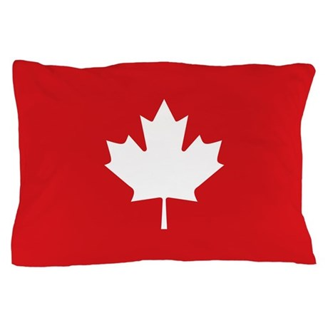 Canada Maple Leaf Pillow Case