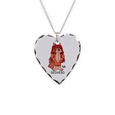 Redhead Necklace