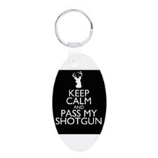 pass my shotgun Keychains