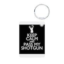 pass my shotgun Aluminum Photo Keychain