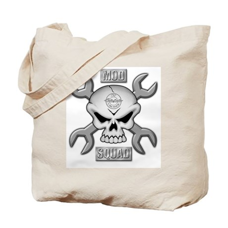 SKULL CHROME MOD SQUAD Tote Bag