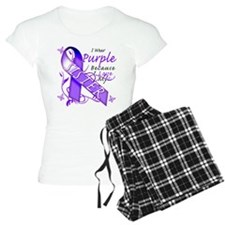 I Wear Purple I Love My Siste Pajamas