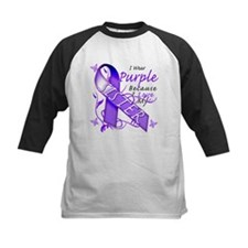 I Wear Purple I Love My Siste Tee