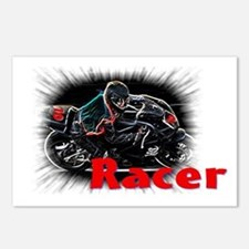 racer Postcards (Package of 8)
