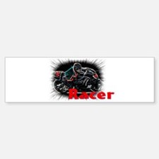 racer Bumper Bumper Sticker