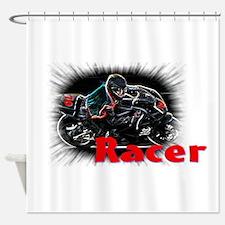 racer Shower Curtain