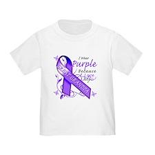 I Wear Purple I Love My Great T