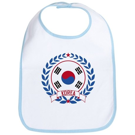 Korea Wreath Bib